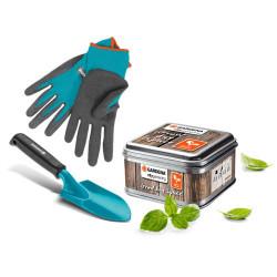 Rękawice ogrodnicze, rozmiar 7 / S (202-20)