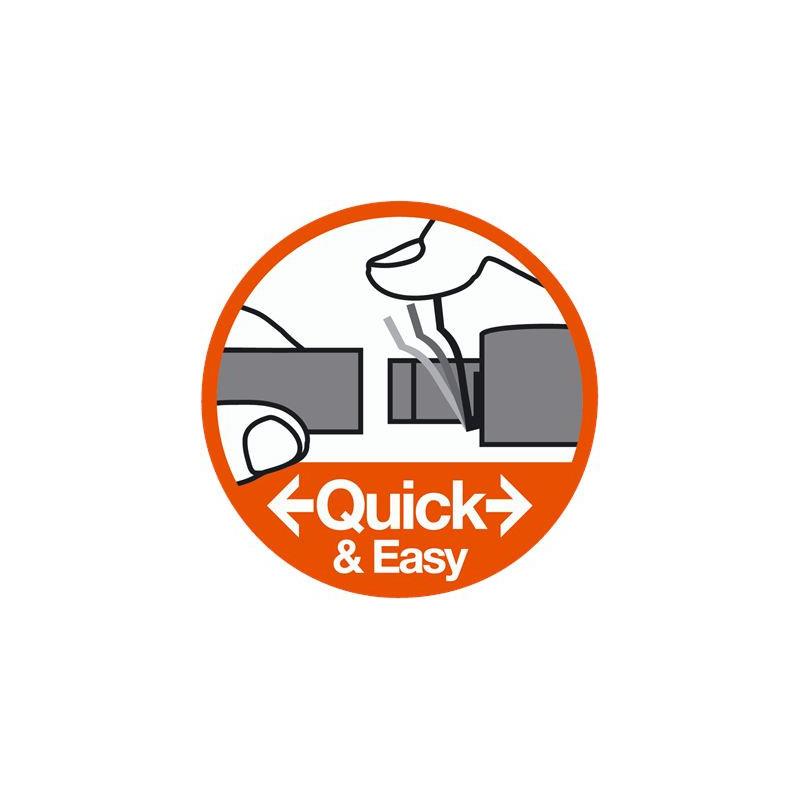 Dysza statyczna 17A 45-360 4.9m SZARA z filtrem r4.9m (2bar) 45-360st 2szt