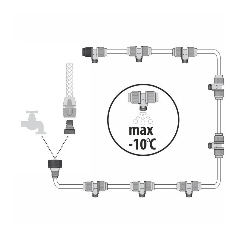 Kroplownik końcowy z komp. ciśnienia 10xLBC2
