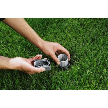 Gardena Głowica wahadłowa mini zraszacza 8220 czerwone dysze XC580328801