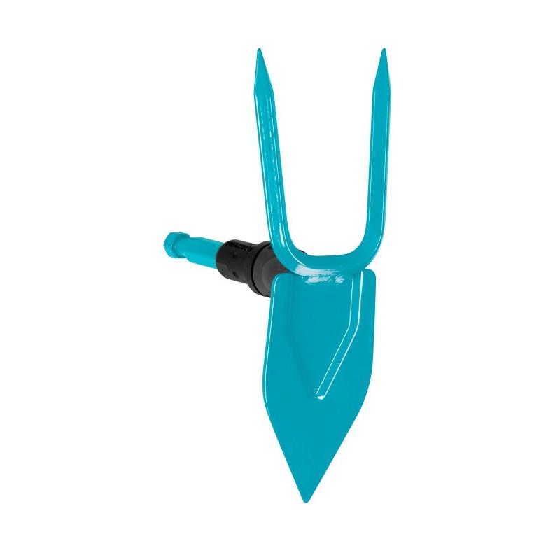 Gardena Akumulatorowe nożyce do przycinania brzegów trawnika comfortcut zestaw z trzonkiem i kołami 985820 GA9858