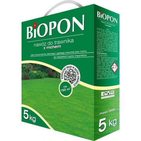 Biopon Biopon do trawników z mchem 5kg PB2022