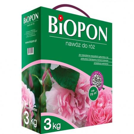 Biopon Biopon do róż 3kg PB2123