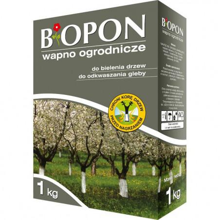 Biopon Biopon wapno do bielenia i odkwaszania gleby 1kg PB2600