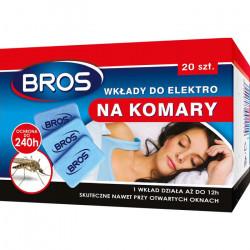 Bros Bros wkłady elektrofumigatora na komary 20szt OS2212