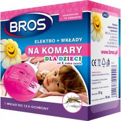 Bros Bros elektrofumigator plus wkłady dzieci 10szt OS2250