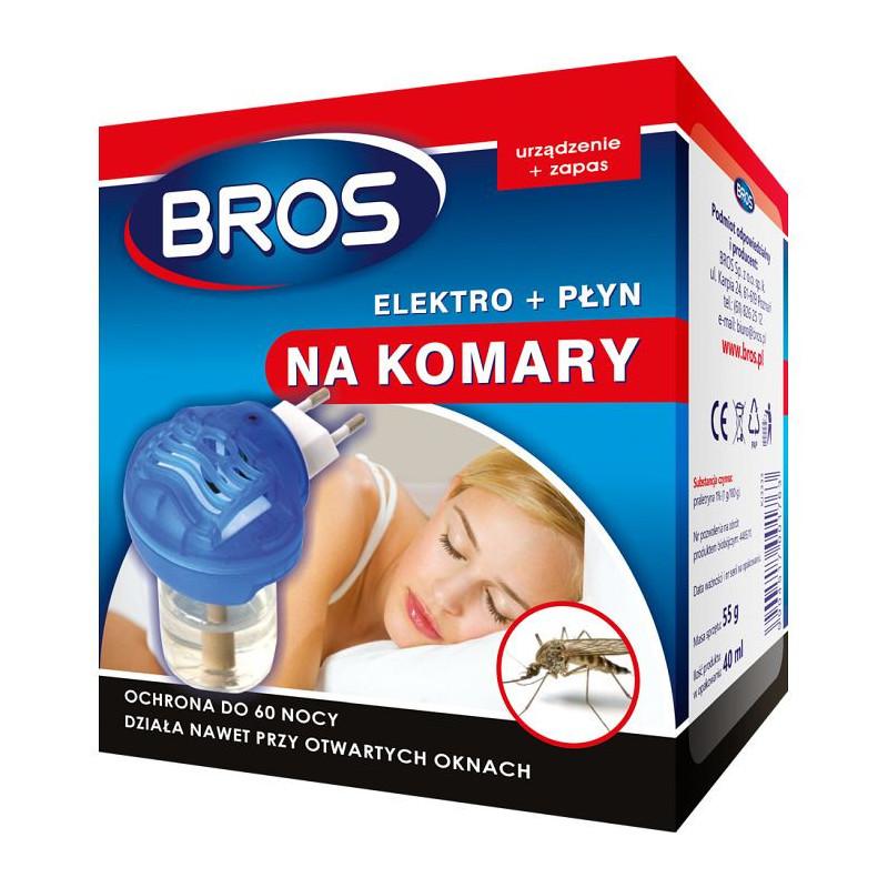 Bros Bros elektrofumigator pluspłyn 60 nocy OS2254