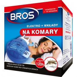 Bros Bros elektrofumigator plus wkłady na komary OS2258