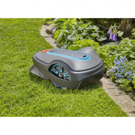 Gardena Smart robot koszący Sileno life 1250 Smart zestaw robot koszącyi router 1911532 GA19115
