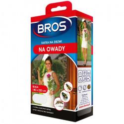 Bros Bros siatka na drzwi biała 140x220 OS2440