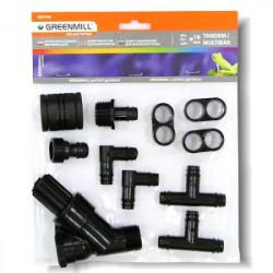 Greenmill Aquasystem Opryskiwacz profesjonalny z manometrem 5l GB9050