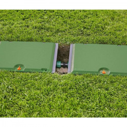 Greenmill Aquasystem Przyłącze mos węża z gw zewn M12cal 12mm GB1122