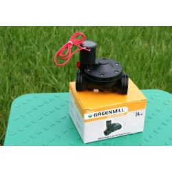 Greenmill Aquasystem Sterownik nawadniania na kran 1cal34cal z zaworem 9V GB6980C
