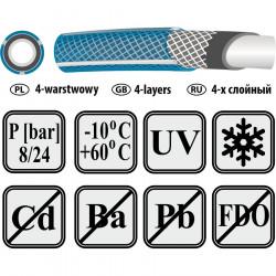 Greenmill Kids Rękawiczki dla dzieci poliestrowe roz.4 GR0051