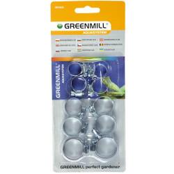Greenmill Aquasystem Dysza statyczna brzegowa 15SS z filtrem 1.5x9.8m 2bar Krain 2szt GB6615S