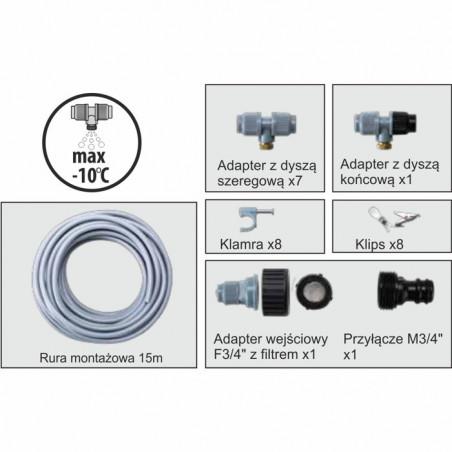 Greenmill Aquasystem Złącze rury 25mm z gwintem M34cal GB8283