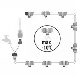 Greenmill Aquasystem Złącze rury 25mm z gwintem M1cal GB8284
