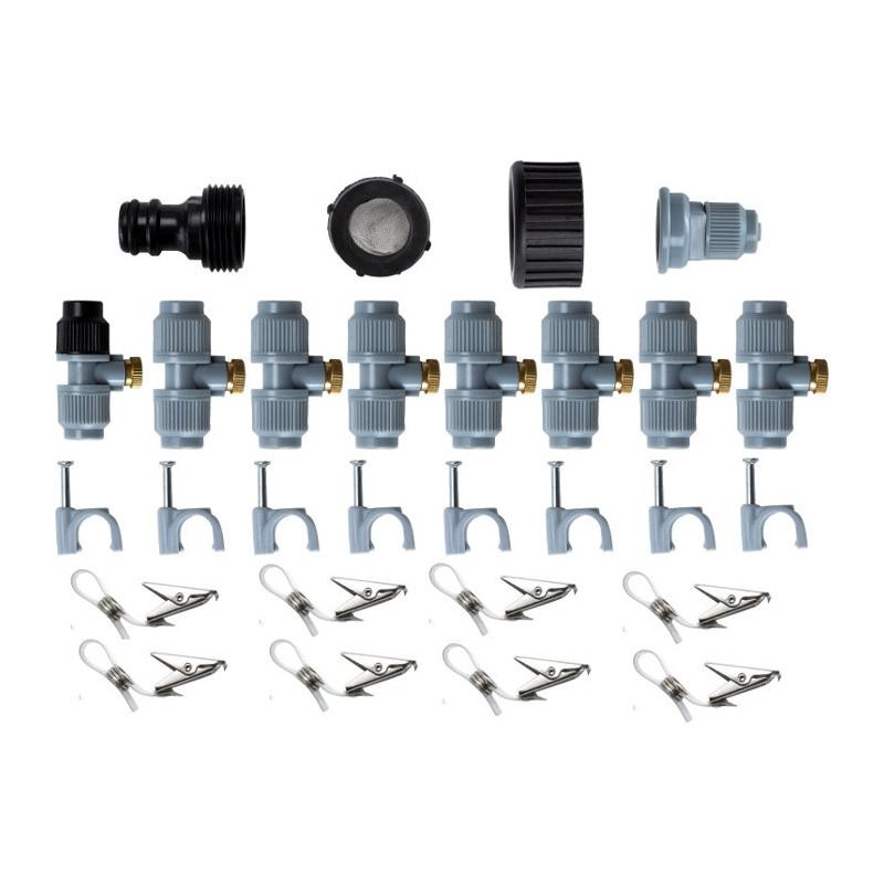 Greenmill Aquasystem Złącze rury 25mm z gwintem F1cal GB8384