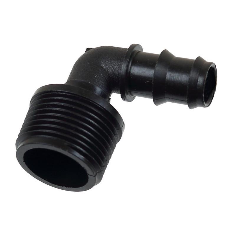 Greenmill Aquasystem Kolanko rury 25mm z gwintem zewn. M34cal GB8573