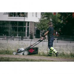 Gardena Akumulatorowe nożyce do przycinania brzegów trawnika classiccut zestaw z trzonkiem i kołami 985520 GABARYT GA9855