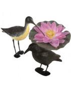 Imitacje zwierząt i lilii wodnych